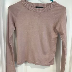 Express XS fitted crew neck sweater